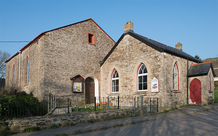 Tresillian Village Chapel. Photo: © Keith Littlejohns